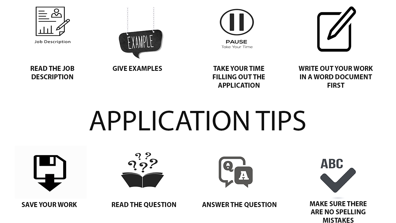 Application Tips Graphic