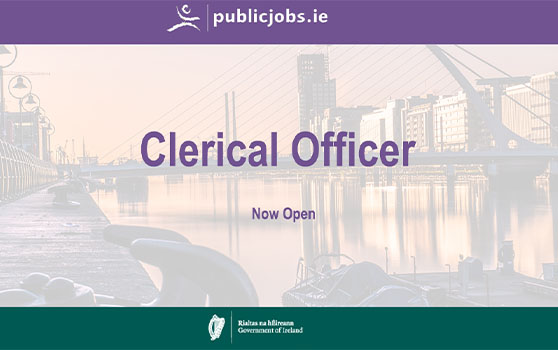 Clerical Officer Roles - Dublin